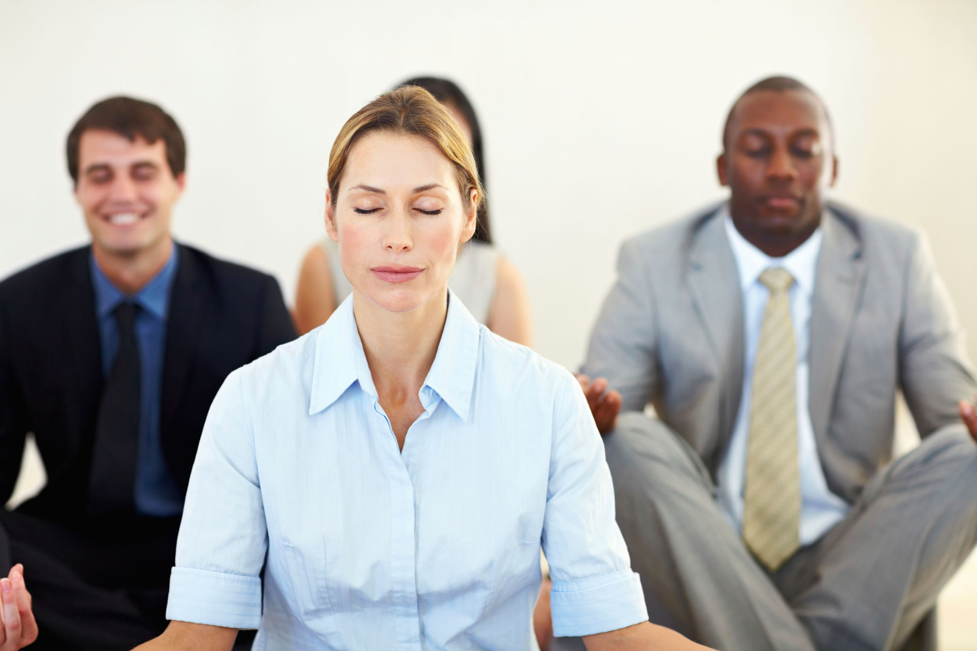 meditação no trabalho